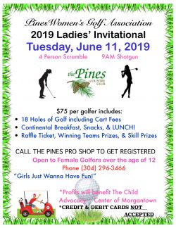 PWGA Ladies' Invitational @ The Pines Country Club